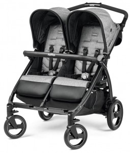 Wózek bliźniaczy BOOK FOR Two Classico CINDER Peg Perego