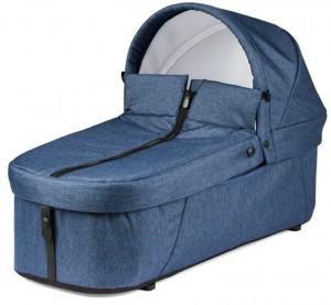 Miękka gondola PORTE ENFANT do wózka Book For Two INDIGO Peg Perego